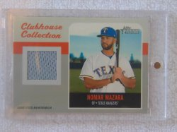 2019 Topps Heritage Nomar Mazara Clubhouse Collection