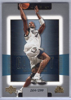 2003 Upper Deck Finite Kevin Garnett