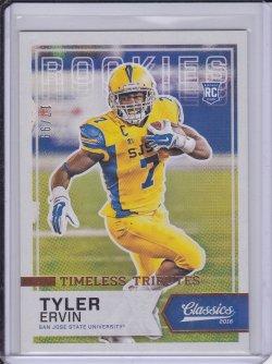 Tyler Ervin 2016 Classics Timeless Tributes Bronze RC /99
