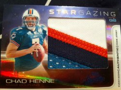 2008 Donruss Absolute Chad Henne /10