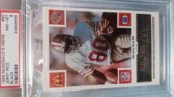 1986  McDonalds  Jerry Rice - - Black
