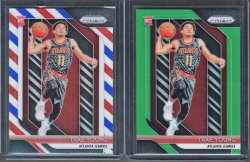 2018-19   Trae Young 2018-19 Prizm Red White Blue Refractor RC
