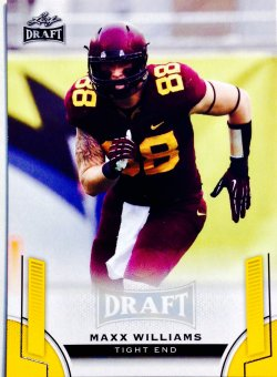 2015 Leaf Draft Gold Parallels Max Williams