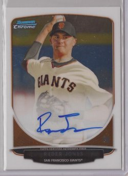2013 Bowman Draft Chrome Ryder Jones