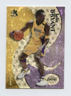 1999-00 E-X #25 Kobe Bryant