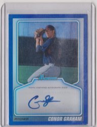 2010 Topps Bowman Draft Picks & Prospects Conor Graham Autograph