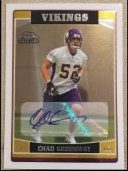 2006 Topps Chrome Chad Greenway