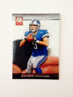 2012 Panini Elite Matthew Stafford