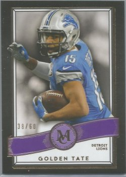 2015 Topps Museum-60th Anniversary Golden Tate