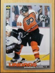 1995-1996 Upper Deck Collectors Choice Players Club Eric Lindros