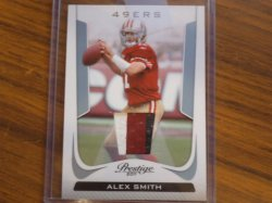 2011  Prestige Alex Smith