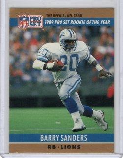 1990 ProSet  Barry Sanders