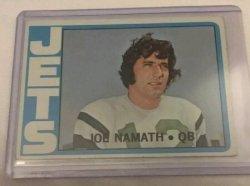 1972 Topps  Joe Namath