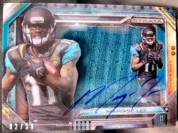 2014 Topps Strata Marqise Lee Signature Rookie Relic