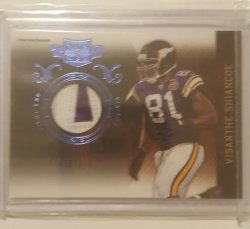 2010 Panini Plates & Patches Visa the Shiancoe