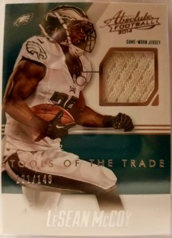 2014 Panini Absolute Tools Of The Trade  LeSean McCoy