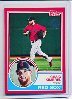 Craig Kimbrel 2018 Topps 1983 Topps Red /10