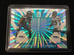 2017 Panini Unparalleled Perfect Pairs Blue Kam Chancellor/Earl Thomas