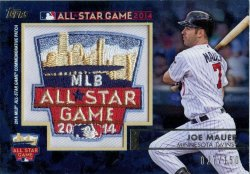 2014 Topps All Star Fan Fest  Joe Mauer Commemorative Patch