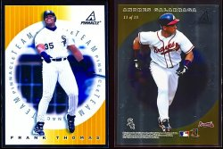1998   Pinnacle Plus Team Pinnacle Gold Frank Thomas Andres G.