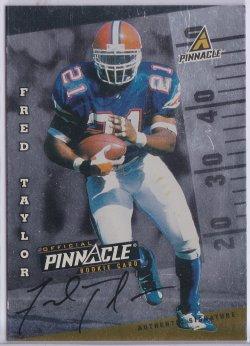 1998  Score - Rookie Autographs Fred Taylor
