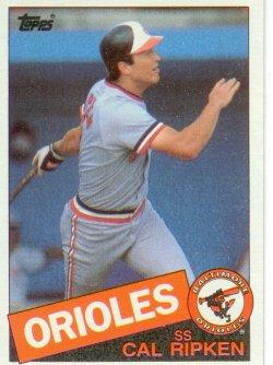 1985 Topps Topps Chewing Gum Cal Ripken - SS
