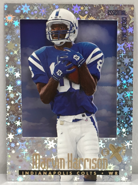 Recent Marvin Harrison Pick Ups Blowout Cards Forums