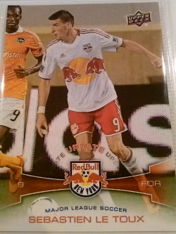 2012 Upper Deck MLS Update Redemption Sebastien Le Toux