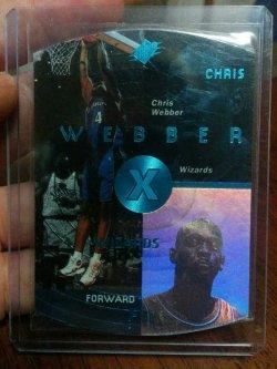 1997-98 Upper Deck SPx Chris Webber Sky