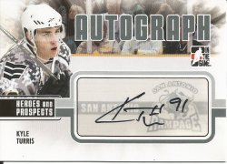 2010  ITG Heroes and Prospects Kyle Turris