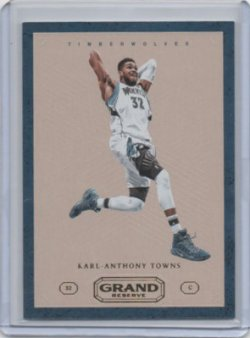 2016 Panini Grand Reserve Karl Anthony Towns Vintage