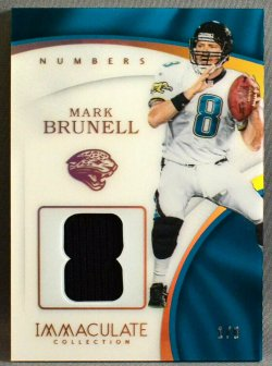 2017 Panini immaculate Mark Brunell