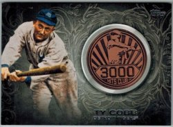 2016 Topps Update 3000 Hits Club Medallion Ty Cobb