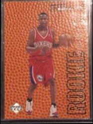 1996-97 Upper Deck Upper Deck Rookie Exclusives #R1 Allen Iverson