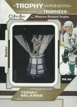 2019/20 O-Pee-Chee  Trophy Patches Selanne