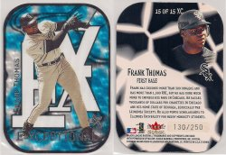 2000  EX E-Xceptional Blue Frank Thomas