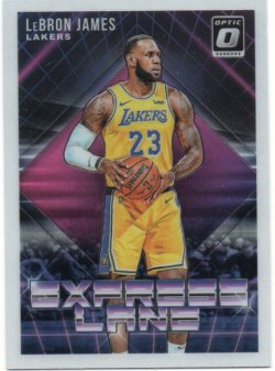 2018-19 Panini Optic James, LeBron - Express Lane