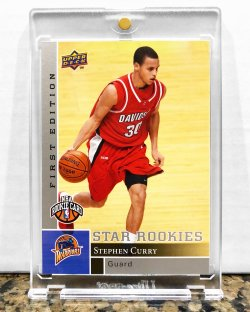 2009 Upper Deck First Edition Stephen Curry