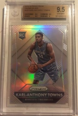 2015/16 Panini Prizm Karl Anthony Towns