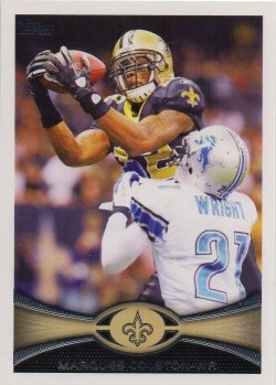 2012 Topps  Marques Colston