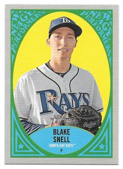 2019 Topps Topps Heritage New Age Performers Blake Snell