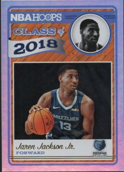 2018-19 Panini Hoops Jackson Jr, Jaren - Class of 2018 Holo