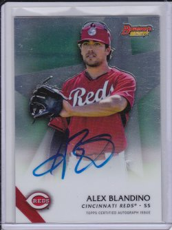Alex Blandino 2015 Bowmans Best Best of 15 Autographs
