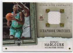 2005-06 Upper Deck UD Portraits Magloire, Jamaal - Scrapbook Swatches