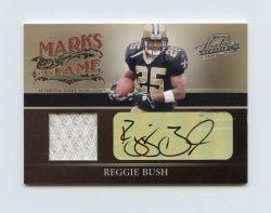 2006 Absolute Memorabilia Marks of Fame Material Autographs #31 Reggie Bush/50