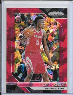 2018-19 Panini Prizm Clint Capela Red Ice