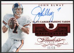 2016   John Elway Flawless Benchmarks RUBY Parallel Auto #11/15