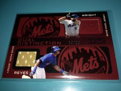 2009 Topps Unique David Wright  Jose Reyes
