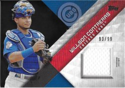 2018 Topps Major League Materials Black S2 Contreras