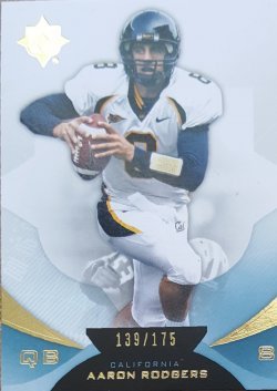 2013 Upper Deck Ultimate Aaron Rodgers